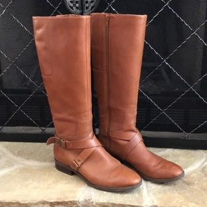 Nine West Blogger Harness Riding Boots